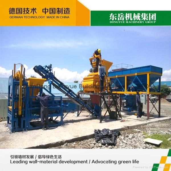 QT4-15C Hollow block machine,cement brick machine,concrete block machine 4