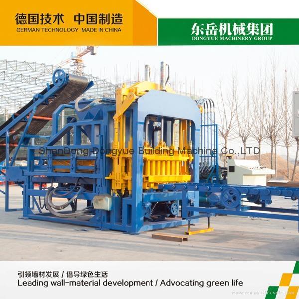 QT4-15C Hollow block machine,cement brick machine,concrete block machine 5