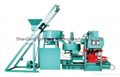 Best Automatic clay tile press making machine/clay roof tile making machine