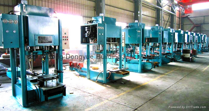 cement roof tile making machine/machinery / full automatic tile production line 2