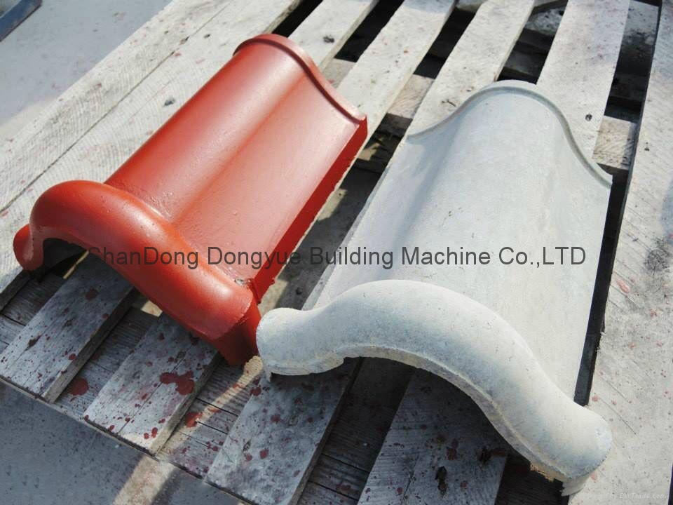 cement roof tile making machine/machinery / full automatic tile production line 3