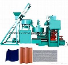 Dongyue Concrete Roof Tile Machine/heavy duty concrete roof tile making machine