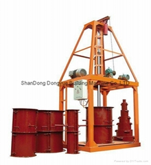 CE standard Concrete pipe making machine,reinforce cement pipe machine