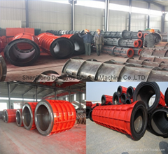Good price roller Cement Pipe Equipment channel pipe making machine from China