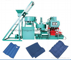 High-speed Elaborate Colored Manufacturer Cement Roof Tile Making Machine