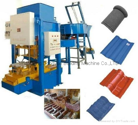 High-speed Elaborate Colored Manufacturer Cement Roof Tile Making Machine 2