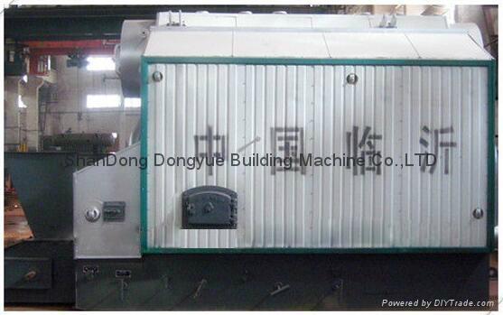 SZL Series Packaged wood fired steam boiler, smokeless coal steam boiler 2