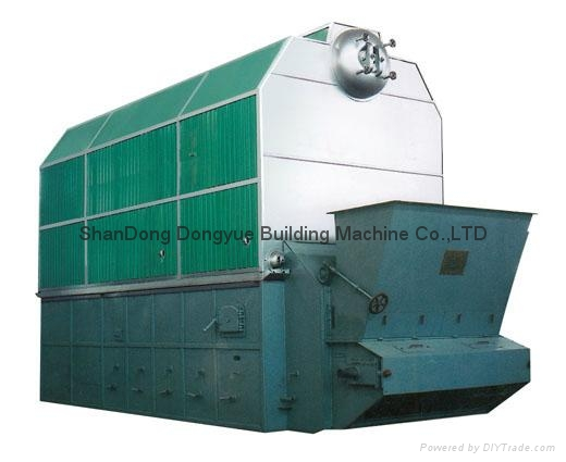 SZL Series Packaged wood fired steam boiler, smokeless coal steam boiler 3