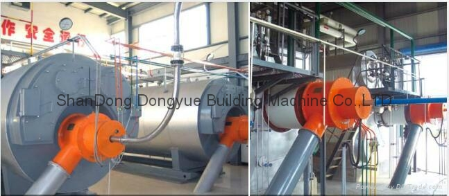 WNS&SZS series coal fired instant pu  erized coal steam and hot water boiler 2