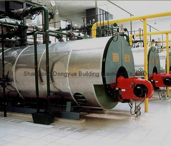 WNS&SZS series coal fired instant pu  erized coal steam and hot water boiler 5
