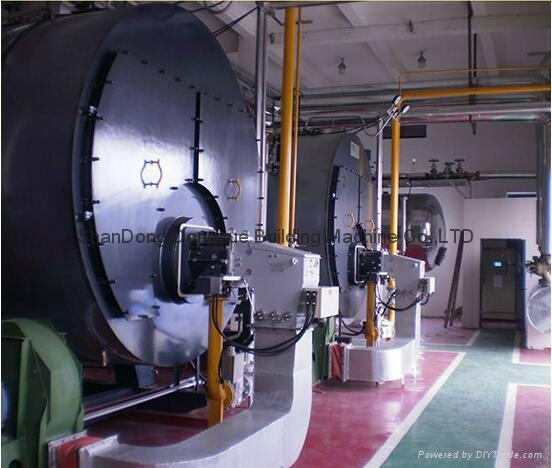 WNS&SZS series coal fired instant pu  erized coal steam and hot water boiler 8