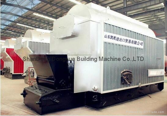 CE Approval DZL Series Package Steam / Hot Water Boiler 5