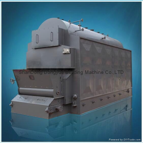 CE Approval DZL Series Package Steam / Hot Water Boiler 1