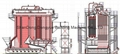 35t/h-130t/h Sequence Chain Grate Boiler,Coal Fired Chain Grate Stoker Boiler