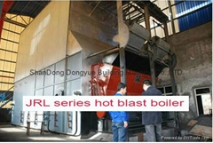 dongyue JRL series hot blast boiler used on chemical/food/construction