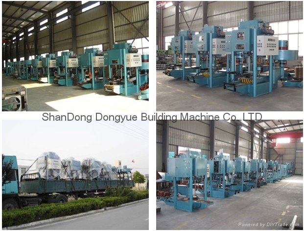 Roof Cement Tiles Press Machine/Concrete Roofing Tiles Machine Factory Price 3