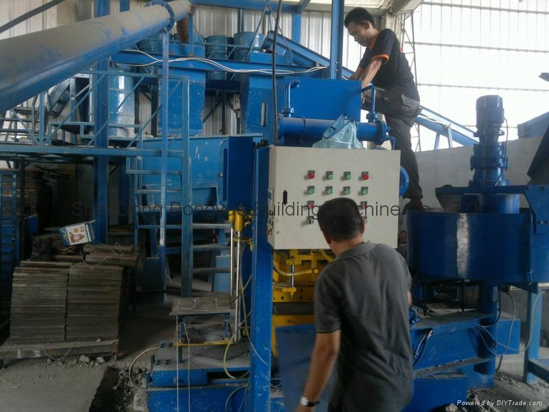 Roof Cement Tiles Press Machine/Concrete Roofing Tiles Machine Factory Price 1
