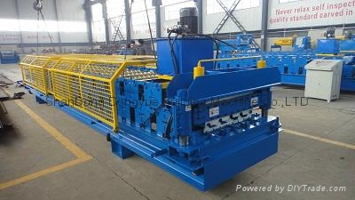 High Quality Roof Tile Roll Forming Machine,Roof Sheet Roll Forming Machine 3