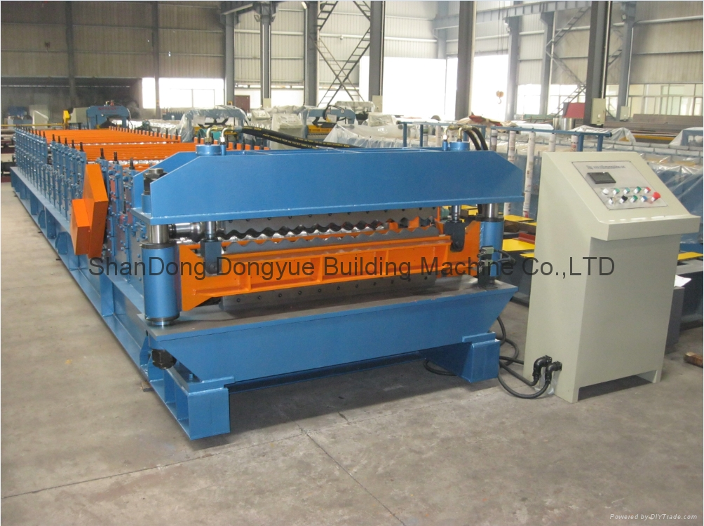 High Quality Roof Tile Roll Forming Machine,Roof Sheet Roll Forming Machine 1