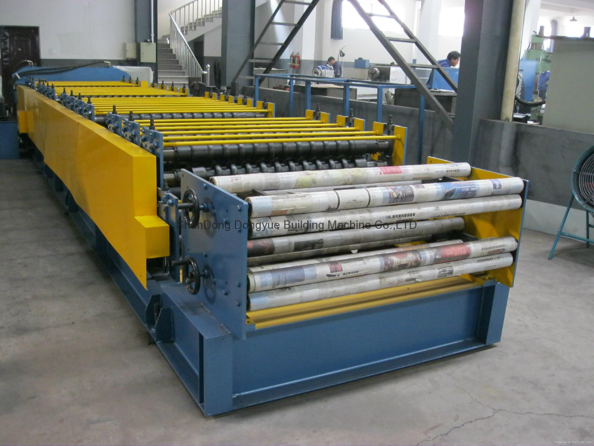 High Quality Roof Tile Roll Forming Machine,Roof Sheet Roll Forming Machine 5