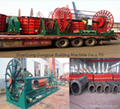 cement pipe forming machine,pipe making production line equipment