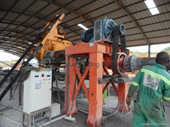 high-speed colored tiles moulding line/cement roof tile machine