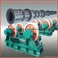 Round concrete pole machines,High Quality concrete pole machine