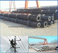 Iran standard and Srilanka standard electrical concrete pole machine