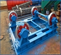 Circular concrete pole steel moulds and