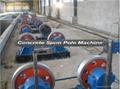 Good price prestressed spun concrete pole machine