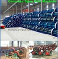 Advanced two-line pre-stressed or reinforced spun concrete pole machine