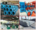 Chinese Manufacturer for concrete pole steel mould/machine/spinning machine