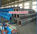 Africa standard prestressed electrical concrete pole machine line