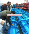 Engineers available overseas electric concrete pole making machine