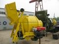 small portable diesel concrete mixer JZC350