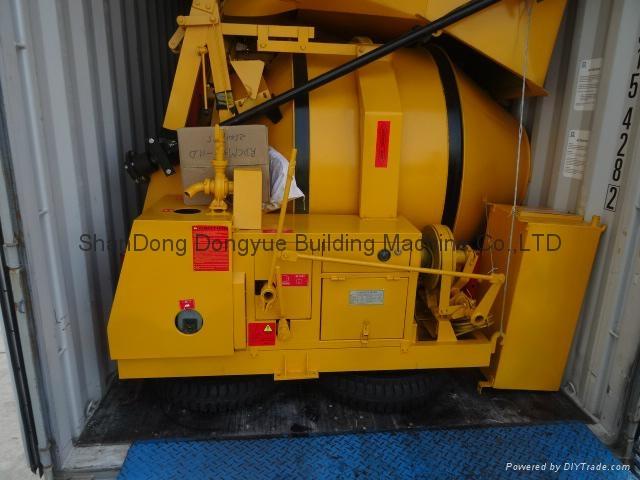 JZC350 used cement mixer concrete machinery,gasoline portable