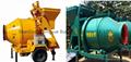 JZC350 mini drum concrete mixer for concrete machinery