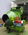 CE Approval  Diesel Engine Powered JZC350 Concrete Drum Mixer