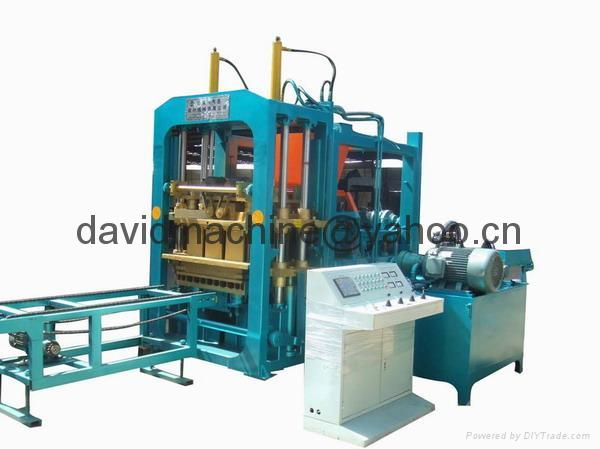 Cement Block Plant Machines : Block forming plant cement machine brick making