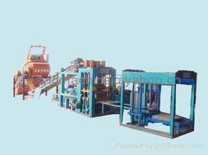 全自动制砖机 4