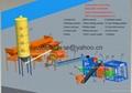 Automatic Concrete Brick Making Machine