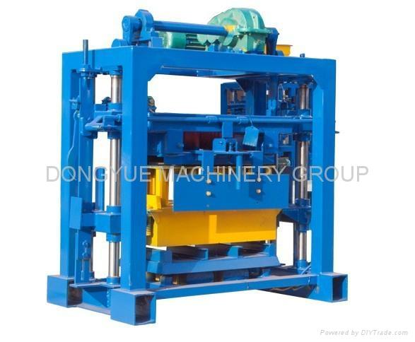 Cement Block Machines : Qt concrete block machine making brick