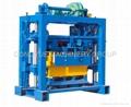 QT40-2 concrete block machine,block