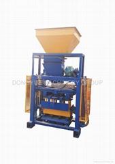 QT40-1 Semi block machin