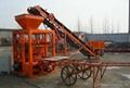 QT40-1 Semi block machine,brick making machine,hollow brick machine
