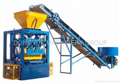 QT4-24 semi block machine,block moulding line,brick making machine  (Hot Product - 1*)