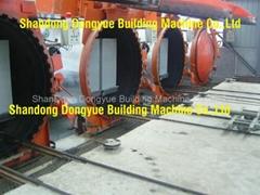 AAC block machine,aerate