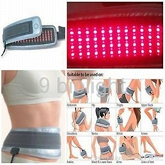 Near Infrared and Red Light Therapy LED Belt for Pain Relief and Body Slim