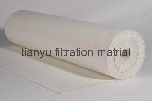 Dust collector Needle Felt  PPS Aramid PTFE Glassfiber filter media 1