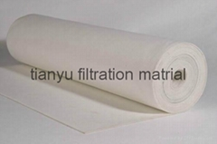 Dust collector Needle Felt  PPS Aramid PTFE Glassfiber filter media
